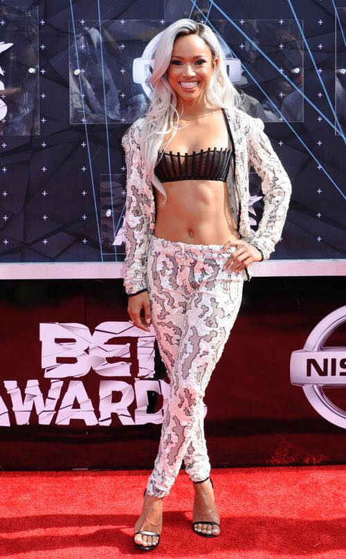 Bet Awards 2015 Karrueche Tran