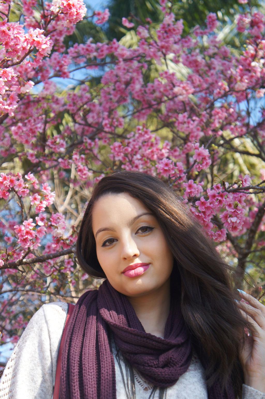 Look do Dia Festa das Cerejeiras