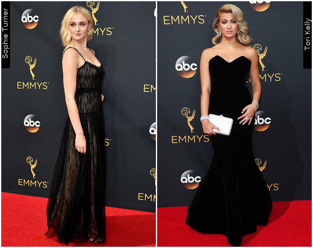 Red Carpet Emmys 2016 Tori Kelly Sophie Turner